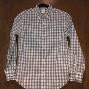 Boys crewcuts plain dress shirt